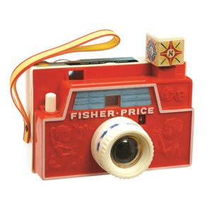 Classic Fisher Price Changeable Picture Camera - traditional toys & games