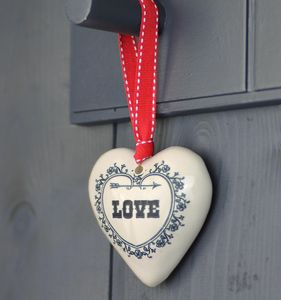 Love Token, Hanging Heart Decoration Or Gift