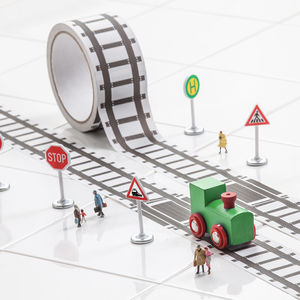 Fun Train Track Tape And Train Set - party bag ideas