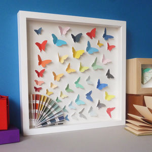 Colour Chart Butterfly Burst - animals & wildlife