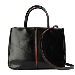 Mariella Black Leather Bag
