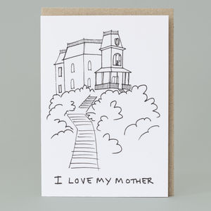 'I Love My Mother' Card - cards & wrap