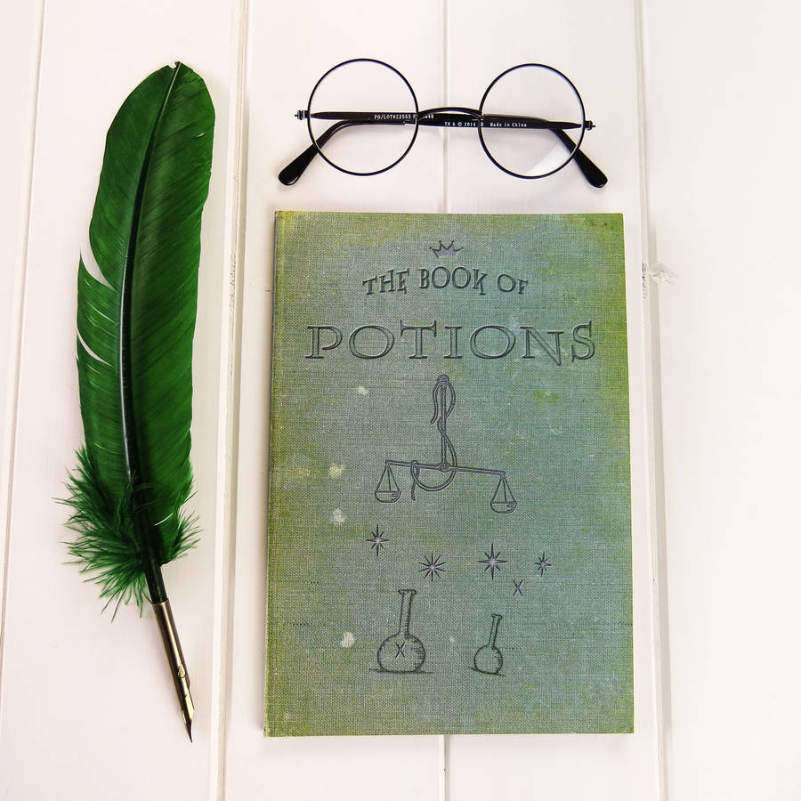 15 Harry Potter Gift Ideas For True Potterheads: Set Of Magic Notebooks By Literary Emporium