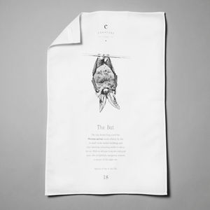 Bat Tea Towel - summer sale