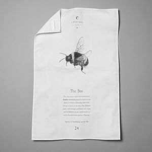 Bee Tea Towel - summer sale