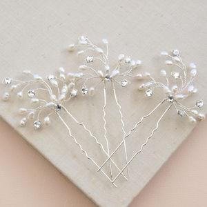 Spring Blossom Pearl Hair Pin
