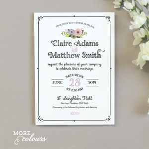 Lola Wedding Invitation