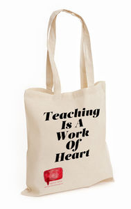 Personalised Teacher Tote Shopper Bag