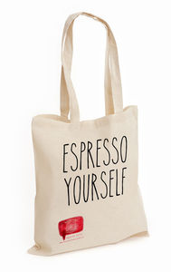 Espresso Yourself Personalised Tote Shopper