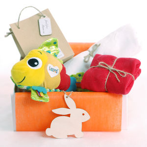 Lamaze Fish Baby Gift Set - personalised
