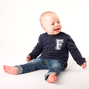 Personalised Baby Sweatshirt - clothing