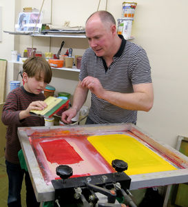 Introductory Screenprinting Workshop - experiences
