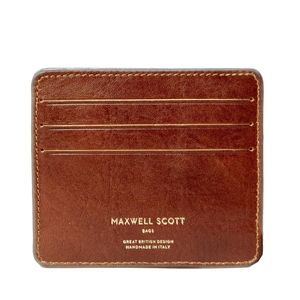 Small Italian Leather Card Holder. 'The Marco'