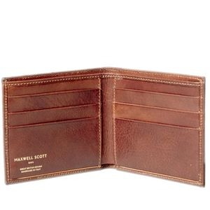 The Classic Men's Leather Billfold Wallet. 'Vittore' - wallets & bags