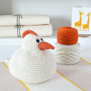 Happy Chicken Crochet Kit