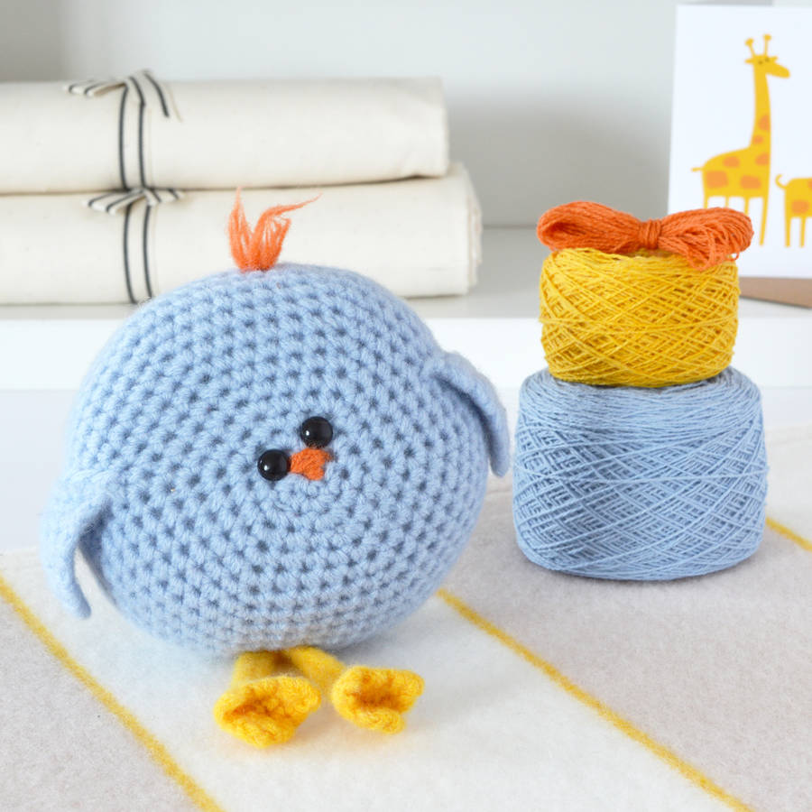 Crochet Kits : homepage > WARM PIXIE DIY > WONKEY BIRD LEARN TO CROCHET KIT