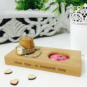 Personalised Wooden Jewellery Stand - jewellery storage & trinket boxes