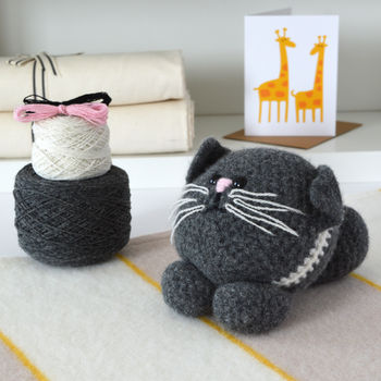 Kitten Learn To Crochet Kit