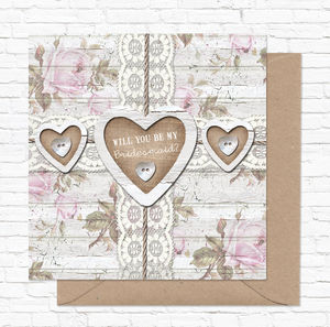 Greeting Card 'Will You Be My Bridesmaid?' - cards