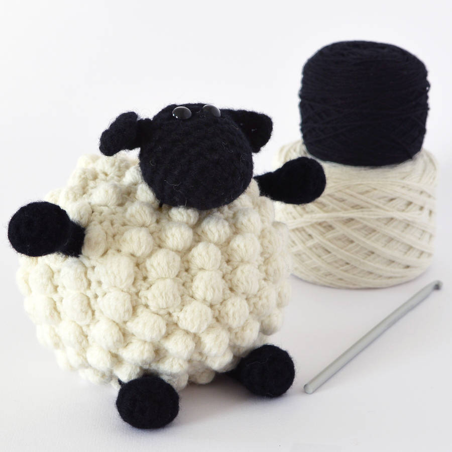 Crochet Kits : luxury bobble sheep crochet kit by warm pixie diy notonthehighstreet ...