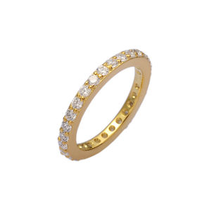Gold Single Stacking Ring - rings