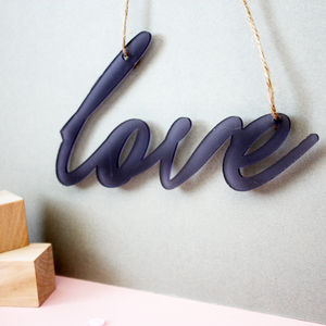 Personalised Acrylic Sign - decorative accessories