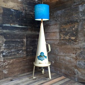 Upcycled 1956 Minimax Extinguisher Lamp **One Only** - table lamps
