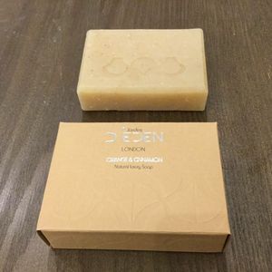 Cinnamon And Orange Soap Bar - soaps