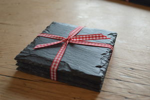Country Slate Coasters