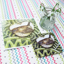 Card And Coaster Set: Square Collection