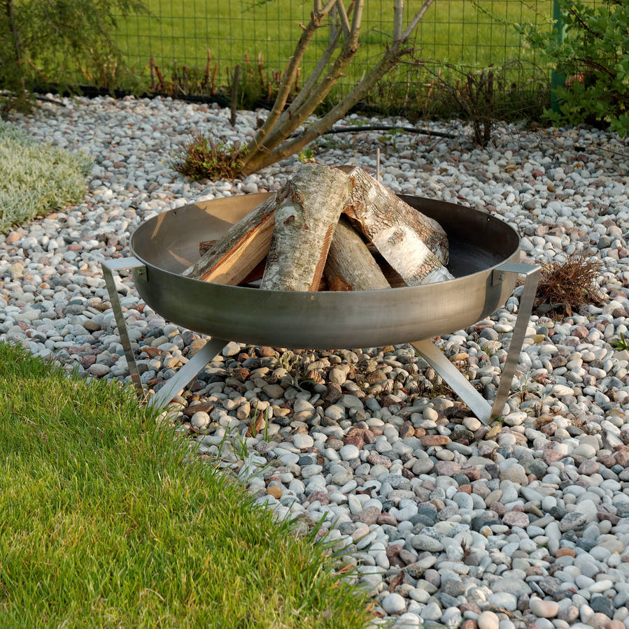 Personalised Etna Steel Fire Pit By Arpe Studio Uk