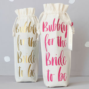 Contemporary Hen Party Bottle Bag