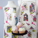 Birdhouse apron