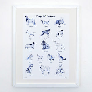 Dogs Of London Print