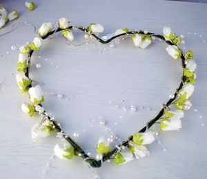 Rose Heart Shaped Fairy Lights