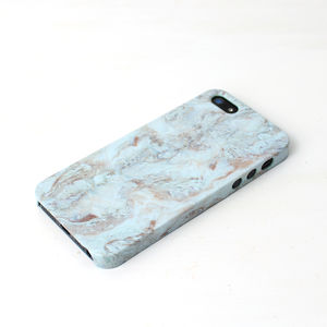 White Marble iPhone Phone Case - marble inspired trend