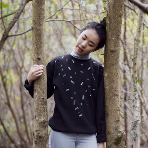 Hand Painted Jazzy Jumper - women's fashion
