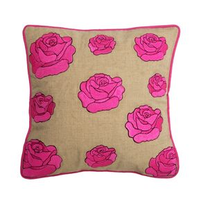 Love Always Cushion Pink - patterned cushions