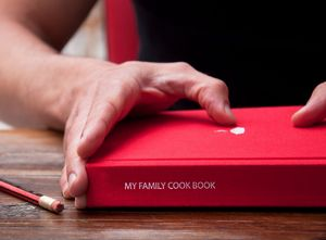Personalised My Family Cookbook