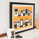 Personalised MP3 Playlist Print