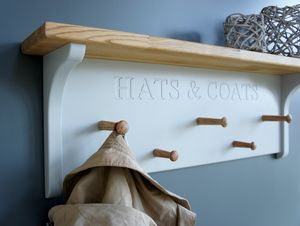 Hat And Coat Rack - shelves