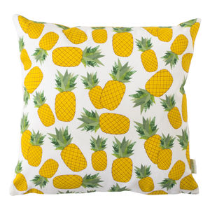 A Piña Cushion - on trend: tropical