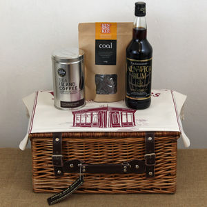 Rum And Jamaican Blue Mountain Hamper - food & drink gifts