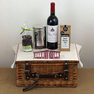 Chateau Musar And After Dinner Hamper - food hampers