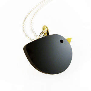 Blackbird Necklace - children's jewellery