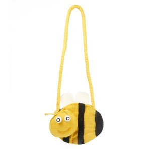 Handmade Felt Bee Bag