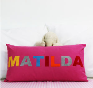 Personalised Child's Cushion Cover - soft furnishings & accessories