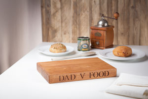 Dad V Food Carving Board