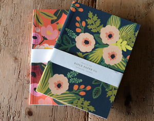 Vibrant Floral Notebook