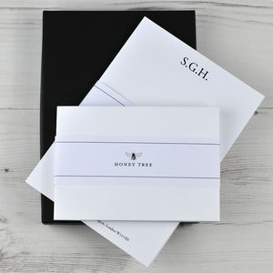 Classic Initials Writing Paper Set With Gift Box